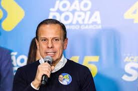 João Dória declara apoio a Jair Bolsonaro