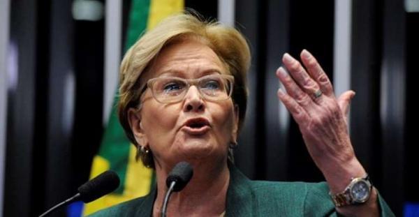 Senadora Ana Amélia apoia Bolsonaro