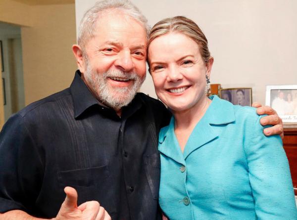 Gleisi Hoffmann entra em desespero após condenação de Lula